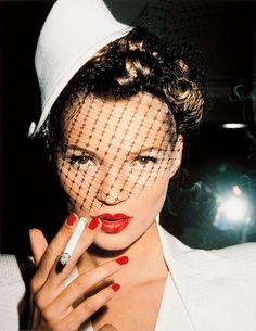 Roxanne Lowit - Kate Moss with Fag, Paris for Sale   Artspace