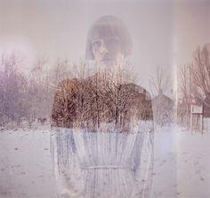 double exposure photography by Julia Fullerton-Batten
