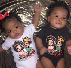 Cute Black Babies, Black Baby Girls, Beautiful Black Babies, Cute Twins, Cute Little Baby, Lil Baby, Pretty Baby, Cute Baby Boy, Beautiful Children