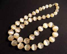#Necklace from #Stone #Reddish #Selenite #Crystal #Beautiful #Beads quality #jewelry Crystals & #Mineral #Specimens
