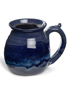 Indigo River Round Mug,   love the color
