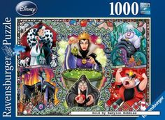 1000 pcs jigsaw puzzle: Disney - Wicked Women (by Ravensburger) 192526 I want this one!!