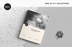 Annual Report by BOXKAYU on @creativemarket