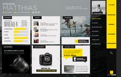 UI / YELLOW FRAME on Behance