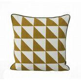 Found it at AllModern - ferm LIVING Large Geometry Organic Cotton Canvas Cushion
