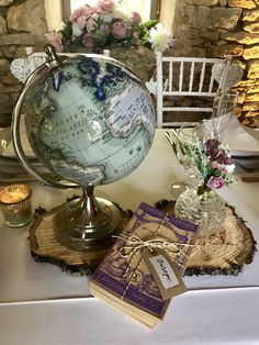 My wedding Stylist and Planner in South West France Centre Pieces, Kind Words, Wedding Centerpieces, Wedding Styles, Wedding Venues, Globe, Stylists, Vintage, Wedding Reception Venues