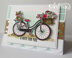 Hello, welcome to this week's Be Inspired blog hop Our theme for this hop is our favourite new DSP. I have chosen the new Foil ...