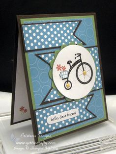 Moving Forward by Cristena - Cards and Paper Crafts at Splitcoaststampers