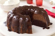 Triple-Chocolate Mousse Cake Recipe - Kraft Recipes
