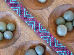 Bracelet brésilien BLOUP émeraude et bordeau : Bracelet par bracelet-bresilien-marion