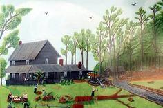 Grandmas' Old Homeplace, Vernon Moore