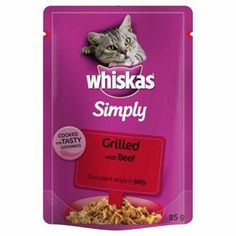 Whiskas Simply Grilled Beef
