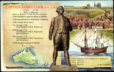 The English navigator Captain James Cook and his crew, including the botanist… Captain James Cook, Early Explorers, Botany Bay, First Contact, Historical Pictures, Royal Navy, British History, World History, Ancestry