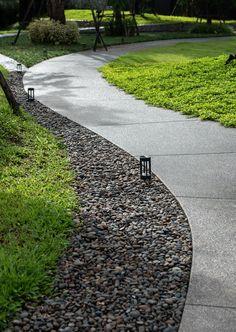30 Ideas For Urban Landscape Architecture Walkways Paths Contemporary Landscape, Urban Landscape, Landscape Model, Modern Landscaping, Backyard Landscaping, Pavement Design, Paving Design, Landscape Architecture Design, Classical Architecture