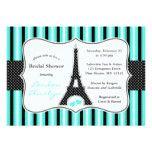 Eiffel Tower Bridal Shower Invitations  Tiffany