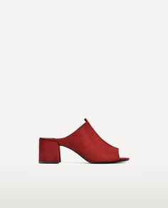 HIGH HEEL BACKLESS SHOES-View all-SHOES-WOMAN | ZARA United Kingdom