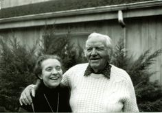 Scott O'Dell (with wife, Elizabeth Hall), Author of Island of the Blue Dolphins