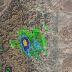 #شبكة_أجواء : رادار غيث يرصد خلية ماطرة على اراضي #سلطنة_عمان