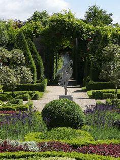Abbey House Gardens, Malmesbury, Wiltshire, England