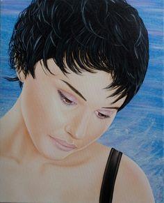 Airbrush auf Leinwand