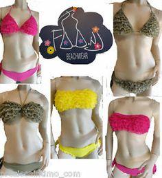 Bikini 2014 Costume da bagno donna roches basiliana pizzo frappe faanj woman