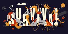 Creative Mornings - Survival on Behance