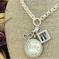 Origami Owl Anniversary Locket... Tell your love story in a living locket with our picture frame dangle.