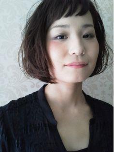 エネロ enero|ヘアスタイル:黒髪でも短い前髪がかわいいフレンチボブ♪|ホットペッパービューティー