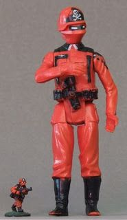 GI Joe Action Force RED TORCHES Red Shadows Pyro-Trooper 2010 JoeCon Exclusive