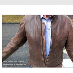 USW Vintage Steerhide Urban Adventurer Jacket