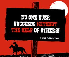 "No one ever succeeds without the help of others."" - Jay Abraham #animation_Video #Video_Quotes #Animation"