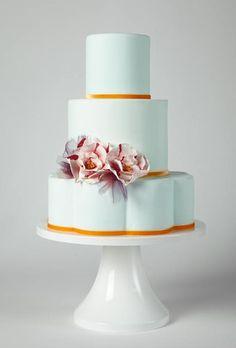 wedding cake idea; K. Rose Cakes