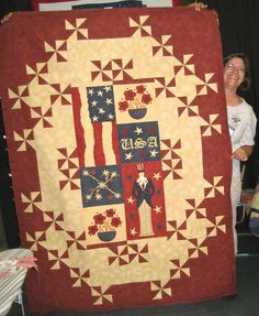 A beautiful Quilt of Valor