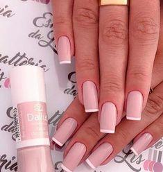 48 Stylish Spring Nail Colors Ideas To Look Cute - Fashionnita Classy Nails, Stylish Nails, Cute Nails, Pretty Nails, Pretty Makeup, Spring Nail Colors, Spring Nails, Best Acrylic Nails, Acrylic Nail Designs