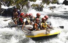 Dare to take a challenging ride into the thrilling waters, on the adventure tour to India. Then how about getting involved in some exotic waters sports and make water as your playground. And what can be more exciting than white water rating.