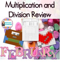 Supplement your math curriculum with multiplication and division review all year long. At my school we do these every Friday for morning work. $