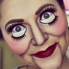 Puppen-Make-up