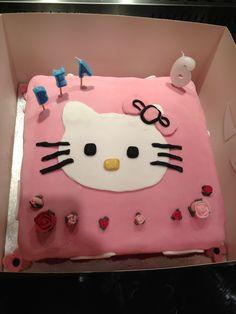 Hello kitty cake My homemade Pinterest Hello kitty cake