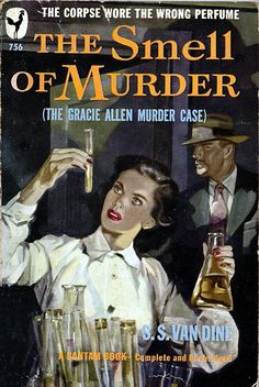 """seattlemysterybooks: """" 1938 Scribner hardcover as The GRacie Allen Murder Case 1950 Bantam paperback reissue with new title 11th Philo Vance whodunnit Seattle Mystery Bookshop """" Copy."""