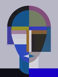 Abstract Geometric Art, Abstract Faces, Abstract Canvas Art, Canvas Wall Art, Modern Art, Contemporary Art, Illustration Art, Illustrations, Elements Of Art