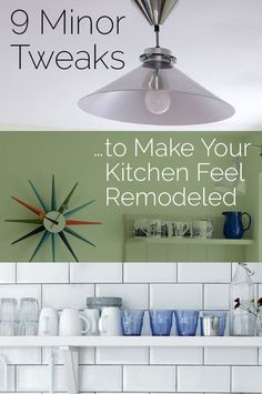 9 Minor Tweaks That Make Your Kitchen Feel Remodeled   | It doesn't have to cost a fortune to turn your new kitchen into the heart of the home you've always dreamed of. Simply follow these clever ideas.