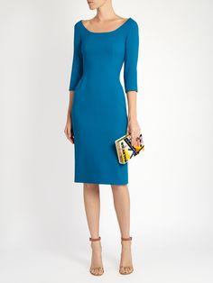 Wool-blend midi dress | Dolce & Gabbana | MATCHESFASHION.COM