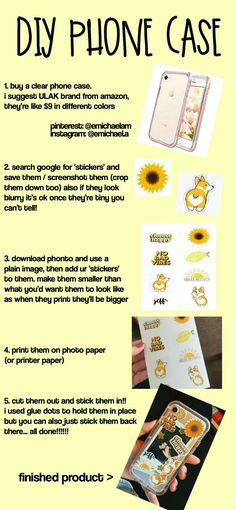Diy sticker phone case for iphone. - Best of Wallpapers for Andriod and ios Tumblr Stickers, Phone Stickers, Diy Stickers, Clear Stickers, Cute Phone Cases, Iphone Phone Cases, Pink Iphone, Phone Covers, Pink Phone Cases
