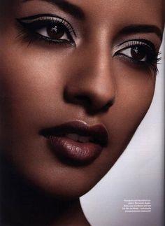 Exotic ethnic beauty