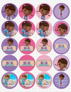 INSTANT DOWNLOAD 20 Doc McStuffins Themed 2 By APaperlessTrail 500