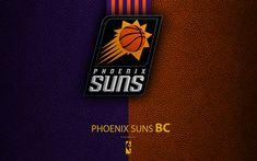Indir duvar kağıdı Phoenix Suns, 4K, logo, basketbol kulübü, NBA, basketbol, amblem, deri dokusu, Ulusal Basketbol Birliği, Phoenix, Arizona, ABD, Pasifik Bölümü, Batı Konferansı