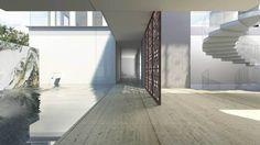studio twist balances family and social life in shanghai garden villa Garden Villa, Amai, Large Homes, Architectural Digest, House Design, Design Homes, Shanghai, Stairs, Exterior