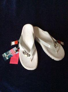 6aa709bc052 M S STEP-TONE Ladies Summer Fitflops UK7 EU40.5 BNWT NATURE-STEP TECHNOLOGY