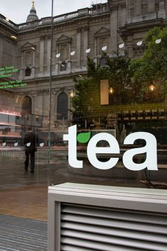 tea - identity and retail design by Mind Design