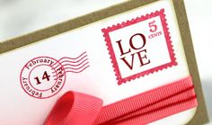 Love Post #cards #crafts